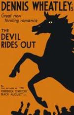 Førsteudgaven af 'The Devil Rides Out' fra 1934.