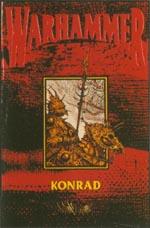 Forsiden af førsteudgaven af 'Konrad' (1989)