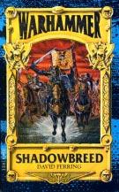 Forsiden af førsteudgaven af 'Shadowbreed' (1990)