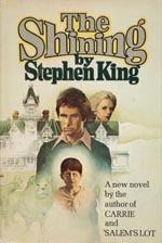 Førsteudgaven af The Shining, Doubleday 1977.