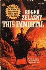 Forsiden af forlaget Ace Fictions førsteudgave af 'This Immortal' fra 1966