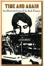 Forsiden af førsteudgaven af 'Time and Again', Simon & Schuster 1970.