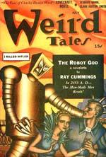 'Weird Tales' juli 1941.