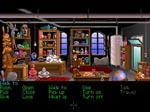 Indiana på sit kontor i spillets begyndelse. Kontoret er fyldt med diverse referencer til de to tidligere Indy-film og også flere af de andre Lucasfilm-spil