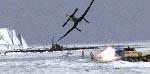De tyske tropper angriber den engelske ubåd
