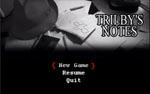 Trilby's Notes - titelskærmen
