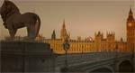 Jim bevæger sig ud i det tomme London.