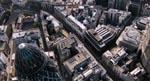 Et af de mange stemningsfulde aerial shots af det mennesketomme London