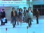 Vores to helte ankommer til Istanbuls lufthavn.