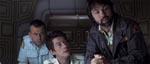 Ash (Ian Holm), Kane (John Hurt) og Kaptajn Dallas.