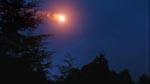 En meteor styrter mod jorden