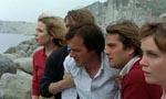 Gruppen indser at de er strandet på øen, da deres båd er væk