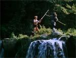 Robin og Lille John (Ator og Griba).