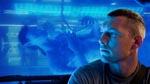 Jake Sully (Sam Worthington) foran tanken, der indeholder hans Avatar. Bemærk i øvrigt at alle billeder i denne anmeldelser er officielle promo-fotos og ikke nødvendigvis faktiske screenshots fra filmen.