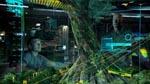 Jake briefer oberst Quaritch foran et hologram af Na'vi-stammens hjem - det kæmpe 'Home Tree'