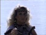 Barbarian queen Amethea (Lara Clarkson).