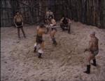 Den klassiske kamp i arenaen.
