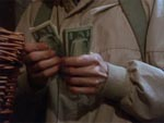 Filmens budget - vist i filmen som Duanes egne penge