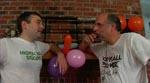 Og der festes hos drengene (læg bl.a. mærke til ballonerne)