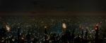 Et view ud over Ridley Scotts fantastiske udgave af Los Angeles anno 2019