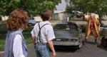 Doc Brown vender tilbage fra fremtiden for at hente Marty. Det der oprindelig var tænkt som en kæk slutning oplægget til et nyt eventyr i 'Back to the Future Part II'.