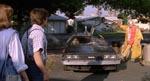 Slutningen af den første film er genskabt med stor præcision, blot med en anden skuespiller i rollen som Martys kæreste.