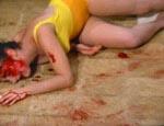 En kniv til ansigtet og så døde Gigi.
