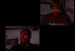 Umotiveret splitscreen med instruktøren