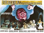 Original plakat til 'Dracula Has Risen from the Grave'