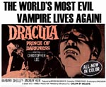 Original plakat til 'Dracula: Prince of Darkness'