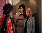 Peter (Tony Eades) og Mary (Anne Sparrow) ankommer til Lila og Olafs pensionat