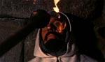 Tempelridderne får deres øjne brændt ud