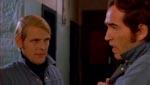 Den fæle, fæle Gerhard Jensen (Ib Mossin) og hans lufthavnskumpan Poul (Poul Glargaard)