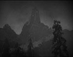 Det ensomme vagttårn hvor Frankenstein har sit laboratorium