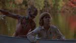 Filmens chok-slutning, hvor Jason pludselig dukker op af søen.