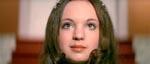 Christina Lindberg som den engelske agent Christina