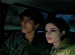 Skin (Agustin Rodriguez) og Jubilee (Heather McComb) på vej til Xaviers skole.