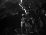 Ygor opdager at lyn styrker monstret.