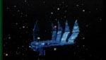 """Rumhånden"" snuppet fra 'Starcrash'."