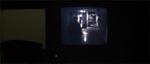 Morderen set gennem hospitalets videoovervågning.