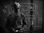 Den gale Dr. Gustav Niemann (Boris Karloff).