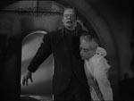 Frankensteins monster spillet af stuntmanden Glenn Strange.