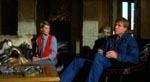 Filmens to træmandsagtige hovedpersoner: Annie McEnroe som Jenny Templeton og Reb Brown som Ben White