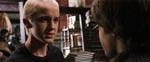 Draco Malfoy (Tom Felton) er ikke blevet mindre skurkagtig siden sidst.