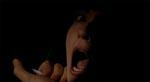 Anna Mari bedøves af morderen hen imod filmens klimaks