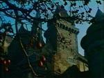Slottet før tågen sænker sig