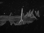Raketten på Mars.