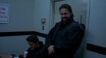 Kane Hodder, der har været inde i Jason siden film nr. 7, har her en lille rolle som politibetjent (det er ham til højre).