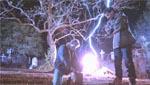 Lynet slår ned og genopliver Jason.