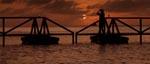 En flot solnedgang - folk der har set 'Deep Blue Sea' vil kunne genkende billedet
